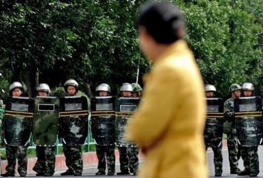 Xinjiang Region Police