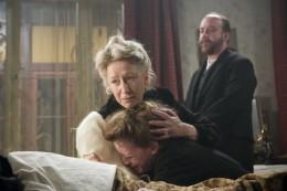 Helen Mirren, Paul Giamatti, Anne-Marie Duff at Tolstoy's Death Bed