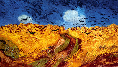 Wheatfield with Crows, c.1890 - photo courtesy of art.com