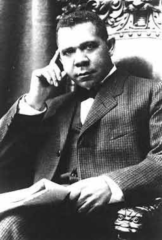 Booker T. Washington was fully acquainted with the crop failures of this hard land.
