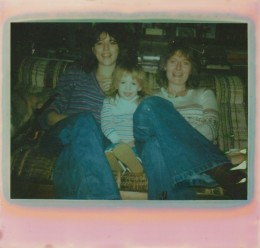 My mother, me (age 2), and Susan (mother's best friend of 30 years)