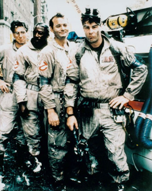 "(*) ""We came...We saw...We kicked Its' _ss!"" Quote from the movie: Ghostbusters"