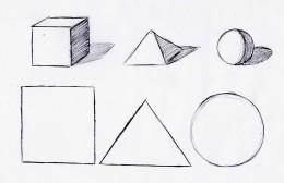 Basic shapes and shading
