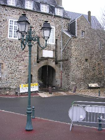 The old drawbridge
