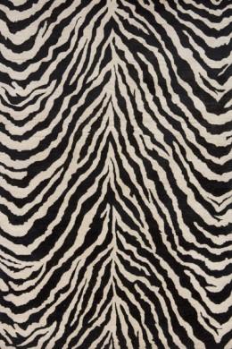 Momeni Zebra Wool Hand Tufted Rug