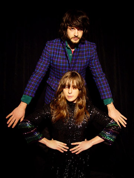 Beach House are Alex Scally and Victoria Legrand.