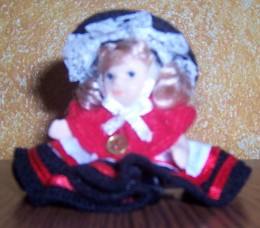 Porcelain Welsh Doll Souvenir