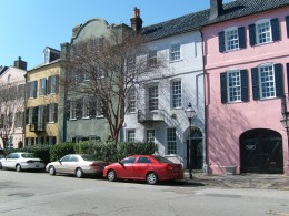 These homes were built and colored similar to the homes in the Caribbean. Charleston's ports was home to ships that sailed to and from the Caribbean
