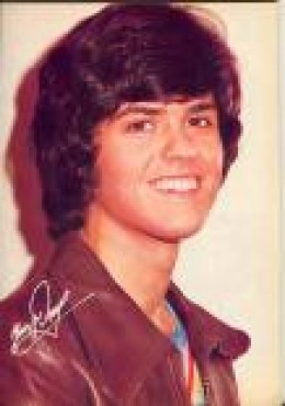 Donny Osmond had a squeaky clean image