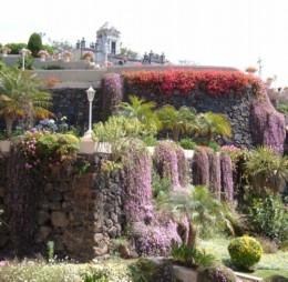 Masonic gardens in La Orotava