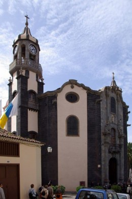 Church in La Orotava