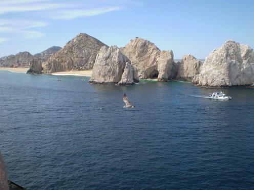 Approaching Cabo San Lucas.