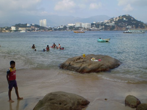 Acapulco's Isla Roqueta - where the locals come to vacation.