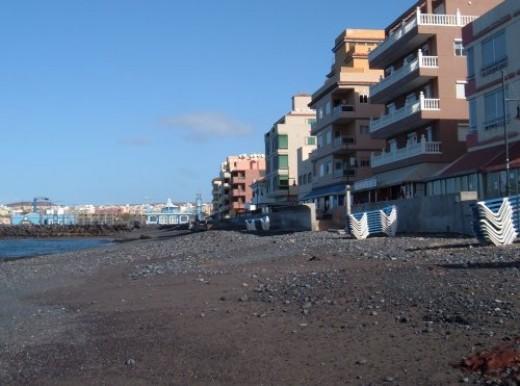 Las Galletas beach Photo by Steve Andrews