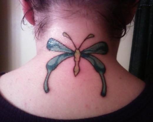neck tattoos for girls. Neck Tattoo Designs For Women