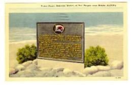 The Prince madog commemorative Plaque. Mobile, Alabama