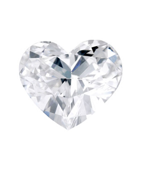 Heart-Shaped Diamond Gemstone