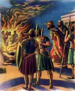 Shadrach, Meshach, And Abednego-Soul Food!