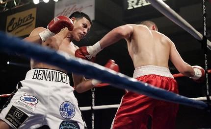 Jose Benavidez scoring a first round KO