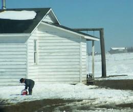 Photo of Amish Boy