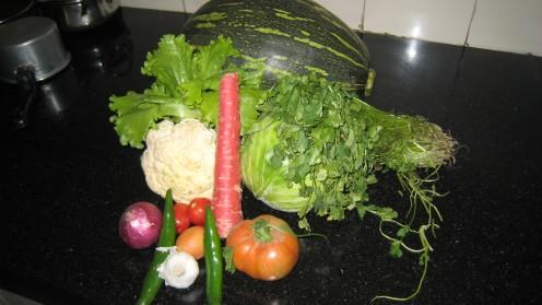 organic vegs