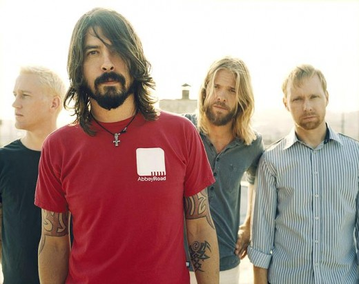 Foo Fighters.  These boys get up in your face hard and stay there!