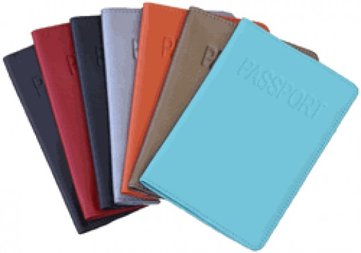 Leather Passport Covers in Assorted Colors      http://www.airlineinternational.net/lepaco1.html