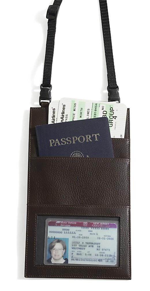 Dilana Around-the-Neck Travel Document Case    http://www.airlineinternational.net/diletrdoca.html