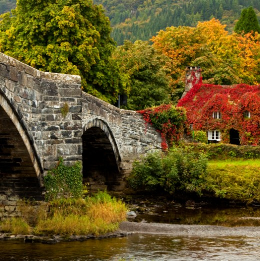 Autumn in South wales