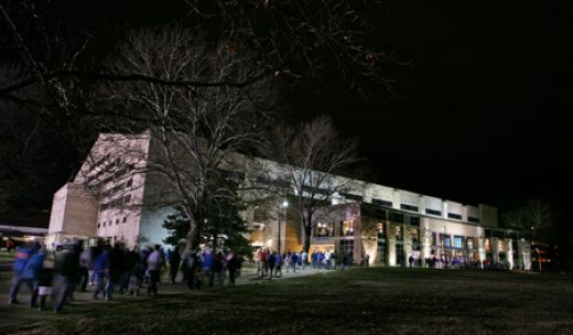 Welcome to the University of Kansas and to Allen Field House, the home of the Jayhawks!