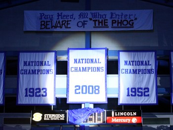Might a fourth NCAA Title banner be hanging from the rafters soon?