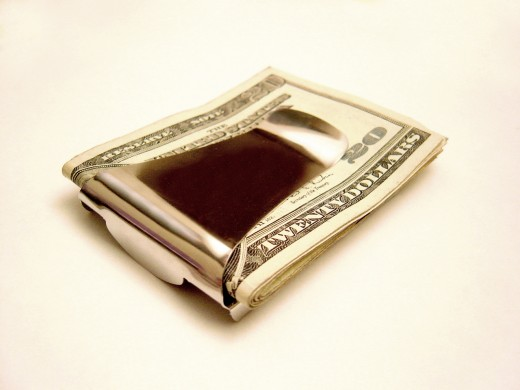 The money clip is out.  The Money Clip Wallet is in.