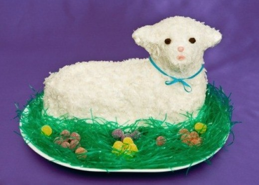 Anyone can make a cute 3-D lamb or other figure with specialty pans image:istock; licensed