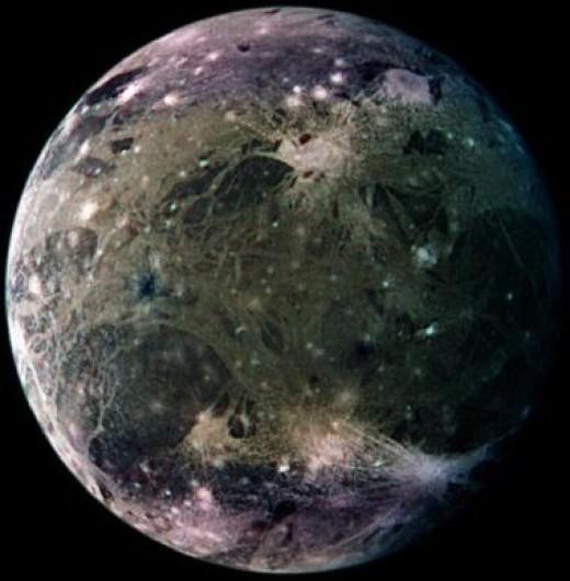 Ganymede Moon Ganymede Moon And Myth The