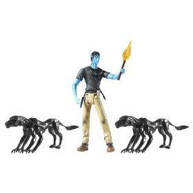Avatar Viperwolf Attack with Jake Sully Figure, Click on any Amazon link to buy