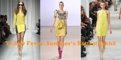 How To Wear Yellow: Hot Summer Fashion Trend