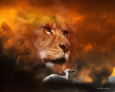 See the Lion of the Tribe of Judah...He is able to open the Scroll.