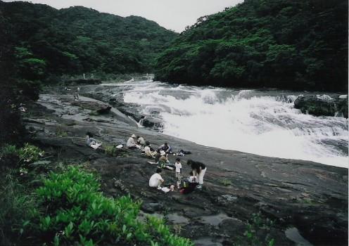 Kampira waterfall, Iriomote.