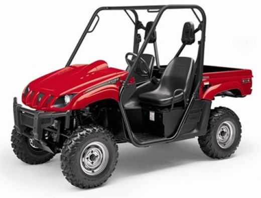 Yamaha Rhino in Red