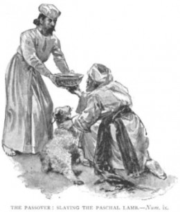 the passover Lamb delivered Israel