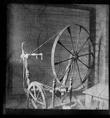 Antique Wesh Spinning Wheel