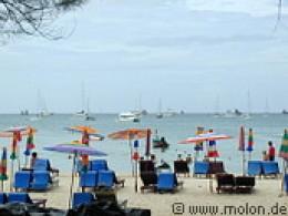 A beautiful beach in the island of Phuket at the Andaman sea