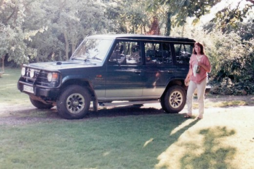 Mitsubishi Shogun for country living - circa 1998