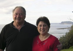 Larry & I at the coast!