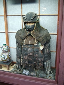 A purported REAL ninja outfit.