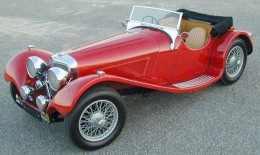1939 Jaguar SS100