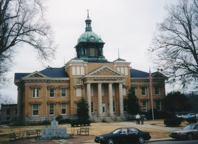 This was the second Union County Courthouse built in 1872. The first was a large frame building. Today's courthouse was built in 1909.