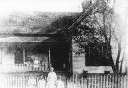 Birthplace of William Faulkner born Sept. 25, 1897