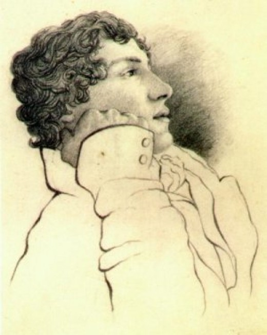 Portrain of Keats in 1819, around the time this poem was written. Image from English History Net