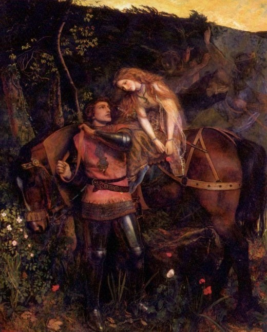 The painting by Sir Arthur Hughes